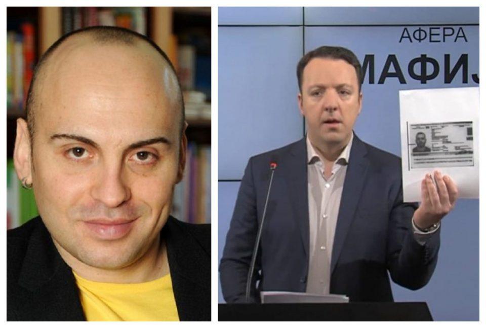 Тасевски: Николоски покажува докази пред новинарите, а тие му поставуваат само едно прашање – немаат прашања и не сакат одговори