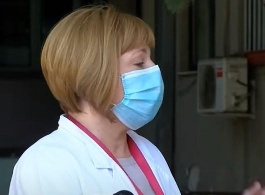 Стевановиќ: Британскиот сој е многу пострашен и буквално ги брише белите дробови од ренген снимките