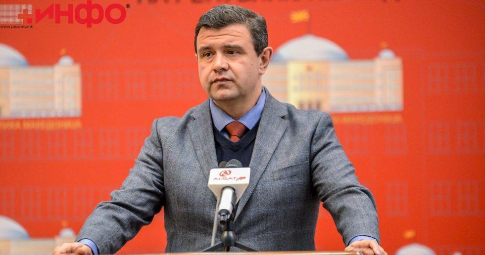 Мицевски: ВМРО-ДПМНЕ ќе даде целосна поддршка за законите поврзани со пандемијата