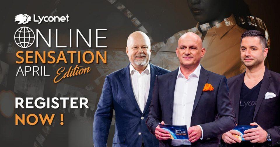 """Бидете дел од најголемиот онлајн бизнис семинар во светот – """"Lyconet Online Sensation"""""""