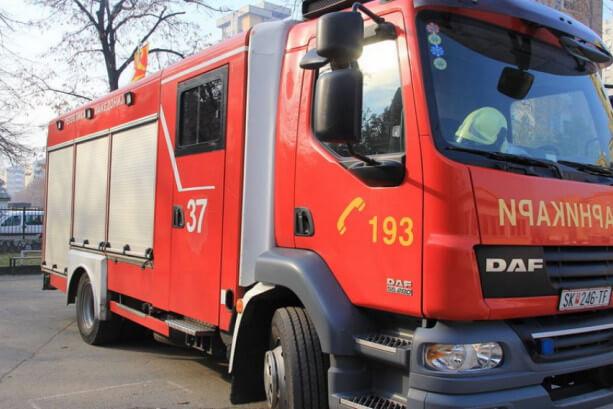 Пожар во Смилковци- едно лице повредено