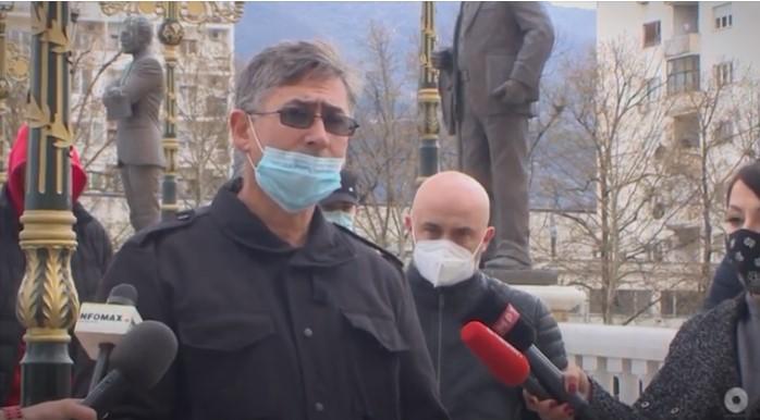 (ВИДЕО) Протест пред ОЈО: Се бара построга казна за убијците на Саздо
