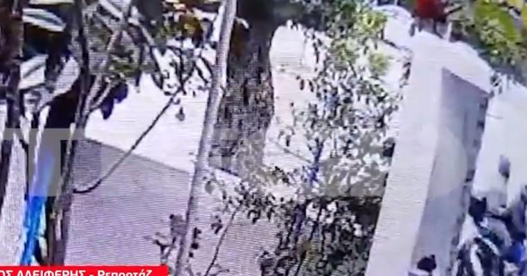 (ВИДЕО) Објавена снимка од убијците на грчкиот новинар