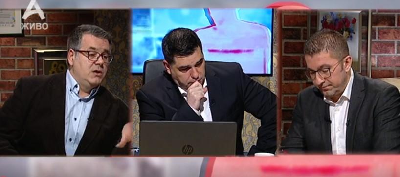 Мицкоски: Требаше Заев и Спасовски оставка да си поднесат уште првиот ден од аферата мафија, тоа е страшен криминал