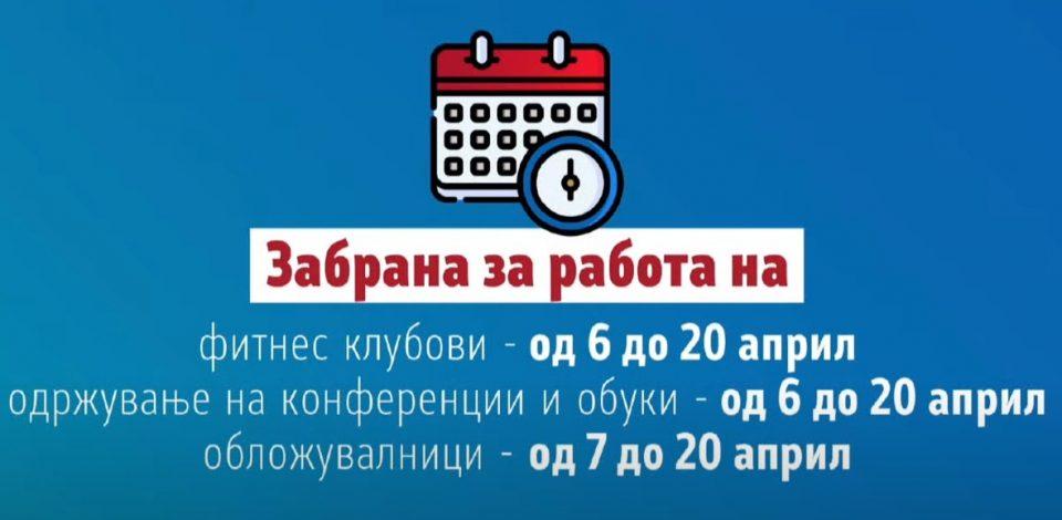 Заострени рестриктивните мерки: Полициски час од 20 часот, целосно затворање на угостелските објекти