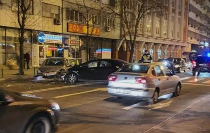 (ФОТО) Тешка сообраќајка на Рекорд