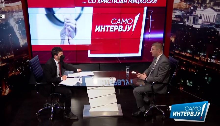 Мицкоски: Очекувам победа на локалните избори