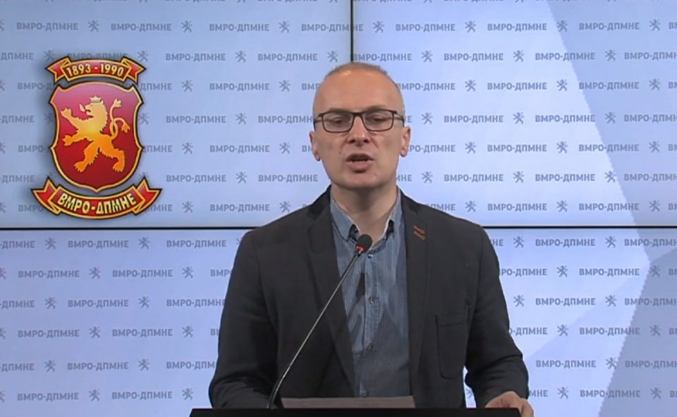 (ВО ЖИВО) Прес – конференција на Антонијо Милошоски