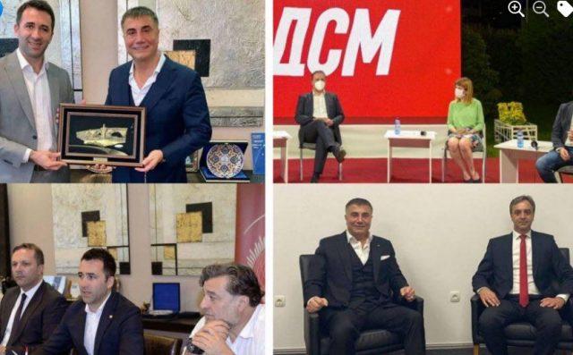ВМРО-ДПМНЕ прашува зошто Седат Пекер не е протеран во Турција каде се бара со потерница
