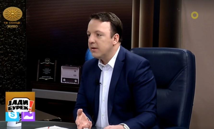 (ВО ЖИВО) Александар Николоски гостин на ТВ Сонце