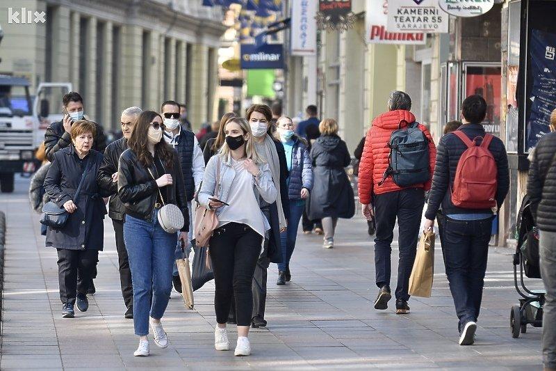 БиХ ја укина мерката за задолжително носење заштитни маски на отворено