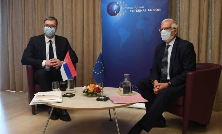 Борел против промена на граници на Балканот, Вучиќ отворен да дискутира