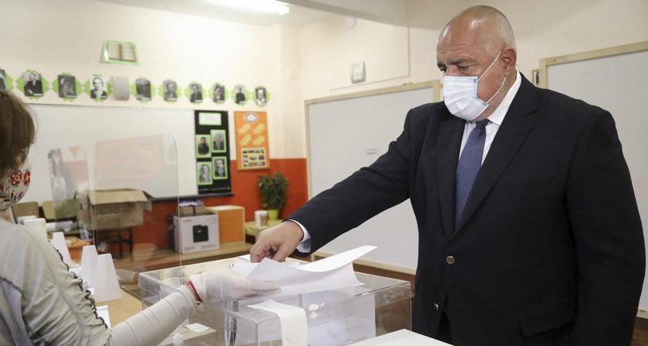 ГЕРБ на Борисов победи на изборите во Бугарија