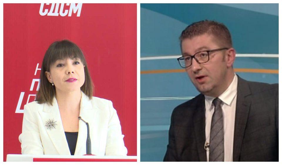 Мицкоски се спротивстави на Царовска: Новиот закон не е реформа, туку желба за подлабоки џебови