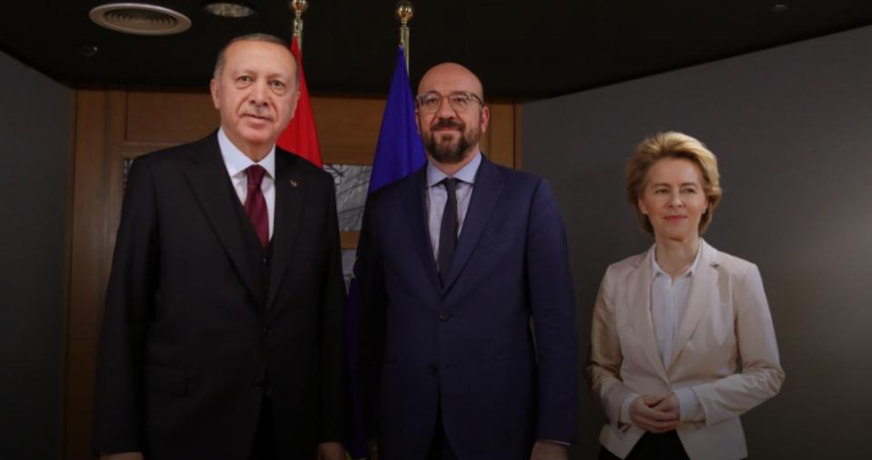 ЕУ денеска ќе ги претстави условите за  обновување на економските односи пред Ердоган