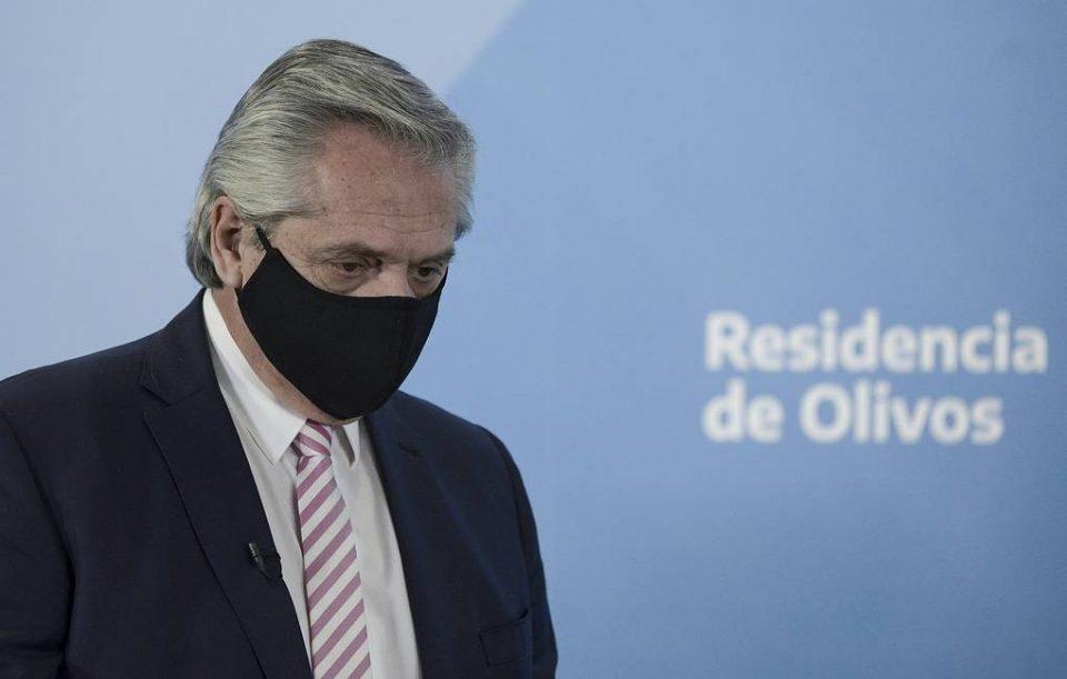 Аргентинскиот претседател Фернандез позитивен коронавирус