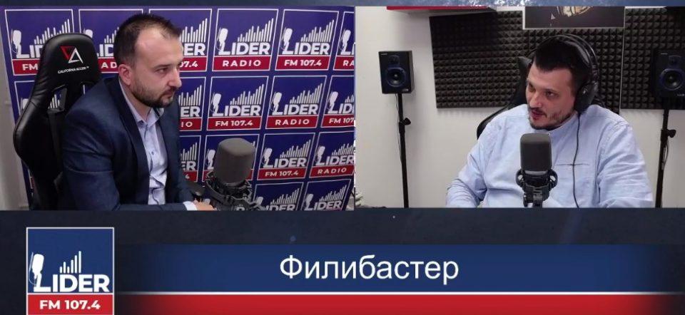 (ВО ЖИВО) Миле Лефков гостин во Филибастер на Радио Лидер
