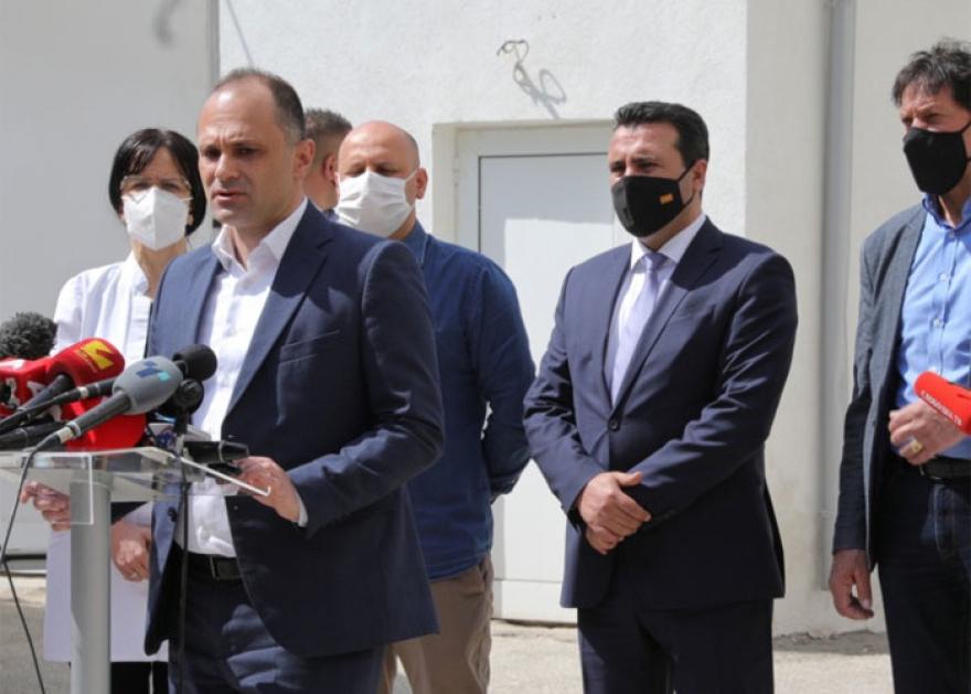 Филипче ги повика граѓаните да се вакцинираат
