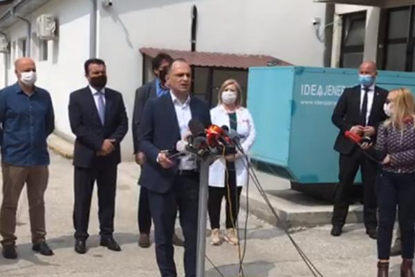 Филипче по пристигнувањето на новата пратка вакцини од Србија: Сѐ се одвива според планот