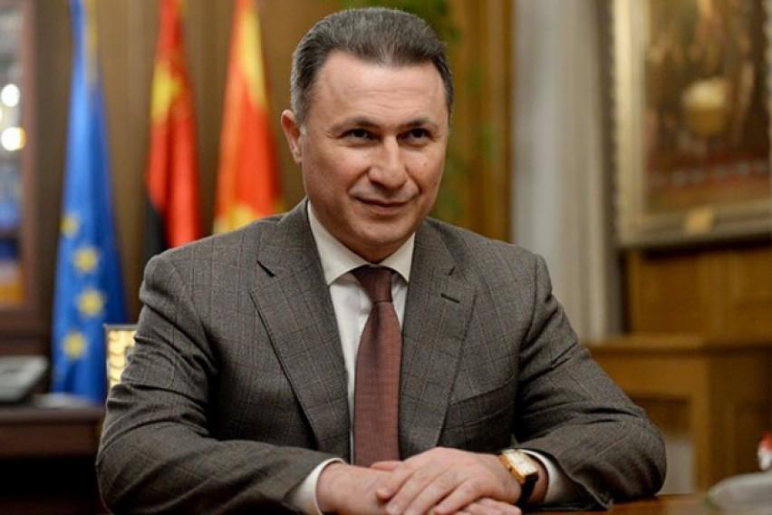 Груевски: Невозможно е да замрзнале мој имот кој го немам и никогаш не бил моја сопственост