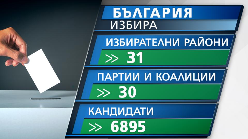 Денеска е забрането агитирање: Утре парламентарни избори во Бугарија