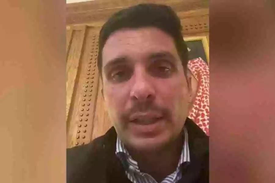 (ВИДЕО) Јорданскиот принц Хамза тврди дека е ставен во домашен притвор