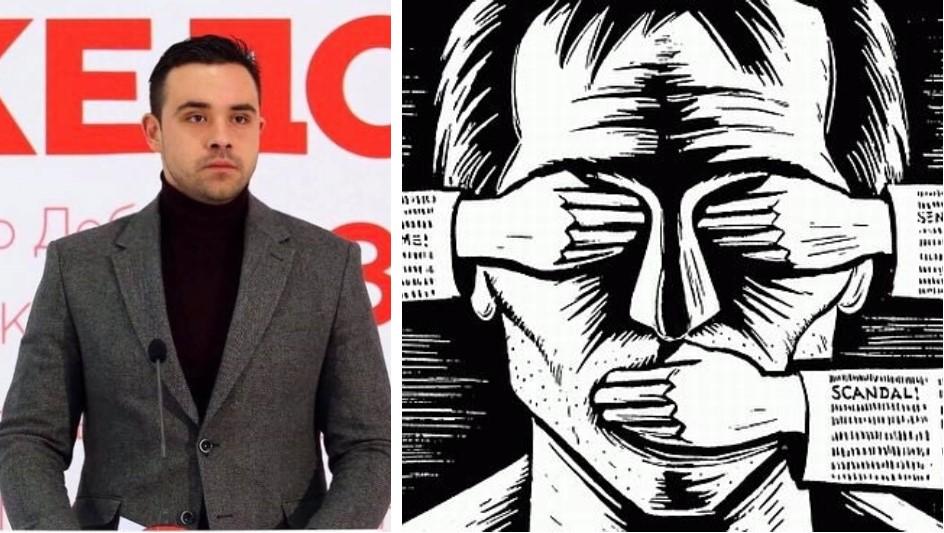 (ФОТО) Гласноговорникот на СДСМ Костадинов им забрани на граѓаните да му коментираат!