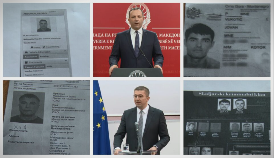 """Дали Владата ги поништи пасошите на криминалците од аферата """"Мафија"""" праша Мицкоски"""