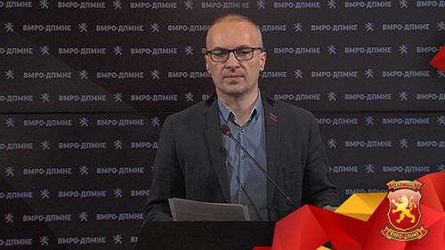 Милошоски: Реформата на Царовска е антиреформа, ќе ѝ нанесе штета на цела генрација ученици