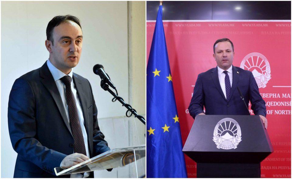 Чулев бара одговорност од Спасовски за лажните пасоши