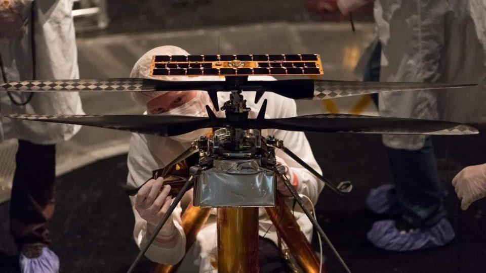 """НАСА го откажа историскиот лет на хеликоптерот """"Генијалност"""" над површината на Марс"""