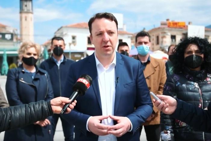 """Николоски: Со аферата """"Мафија 2"""" се отвора дилема дека парламентарните избори се фалсификувани"""