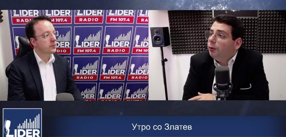 """(ВО ЖИВО) Александар Николоски гостин во """"Утро со Златев"""""""