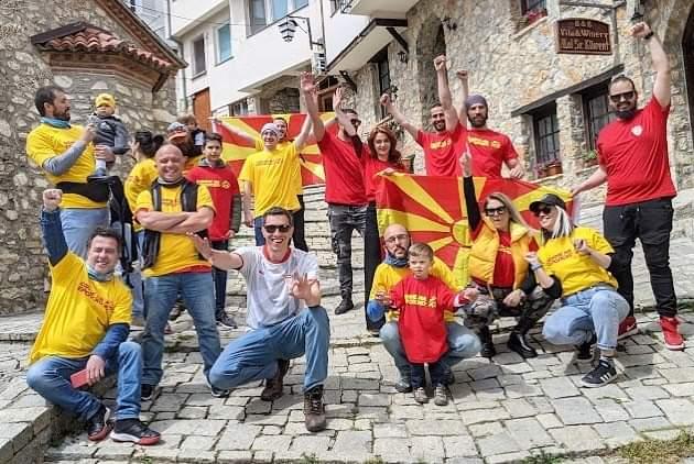 """Во Охрид и на езерото се снимаат кадри за спотот """"Одиме на Европско"""""""