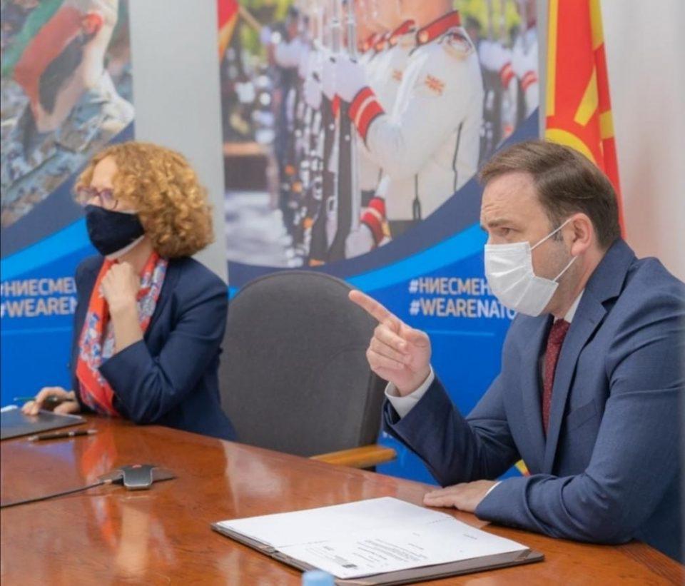 Шекеринска и Османи на состанок со НАТО: Темата е повлекувањето на сојузот од Авганистан