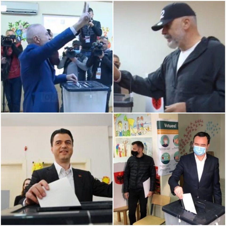 Избирачкото право во Албанија го остварија Мета, Рама, Баша, како и косовскиот премиер Курти