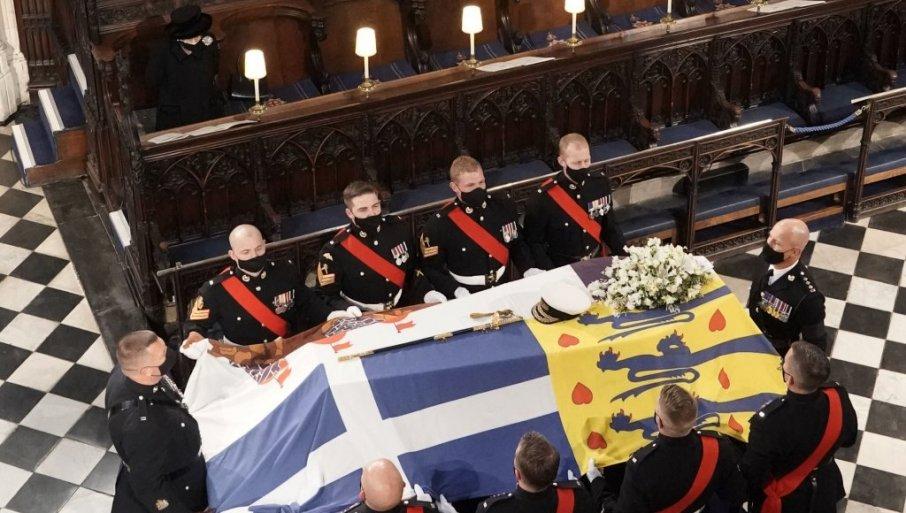(ВО ЖИВО) Погребна церемонија на принцот Филип