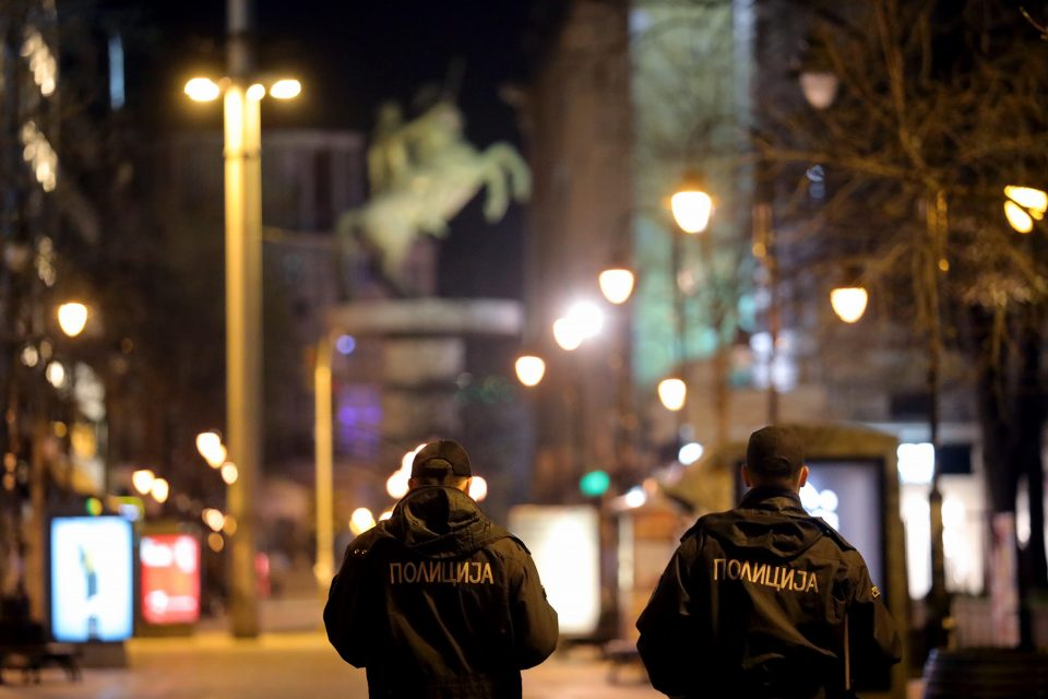 Дваесет и двајца казнети за движење во време на полициски час