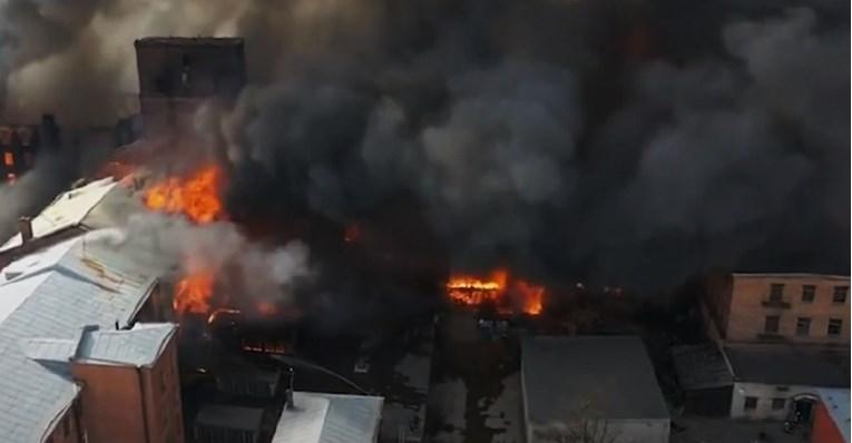 Над 20 лица загинаа во пожар во болница за пациенти во Багдад