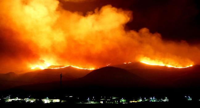 Четири пожари денеска во Кавадаречко, пожарникарите апелираат на внимателност
