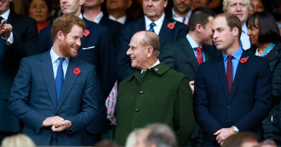 Принцовите Вилијам и Хари му оддадоа почит на нивниот дедо, принцот Филип