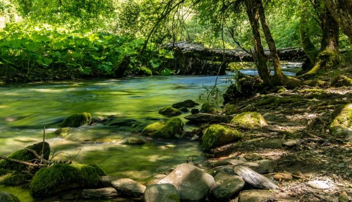 Злголемен потпросечниот водостој на реките во Македонија