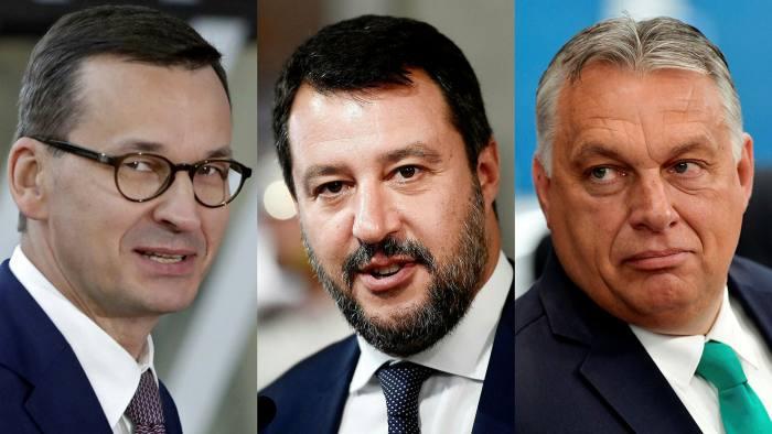 На повидок ли е нова десничарска сила во ЕУ? Денеска средба на Орбан, Салвини и Моравиецки
