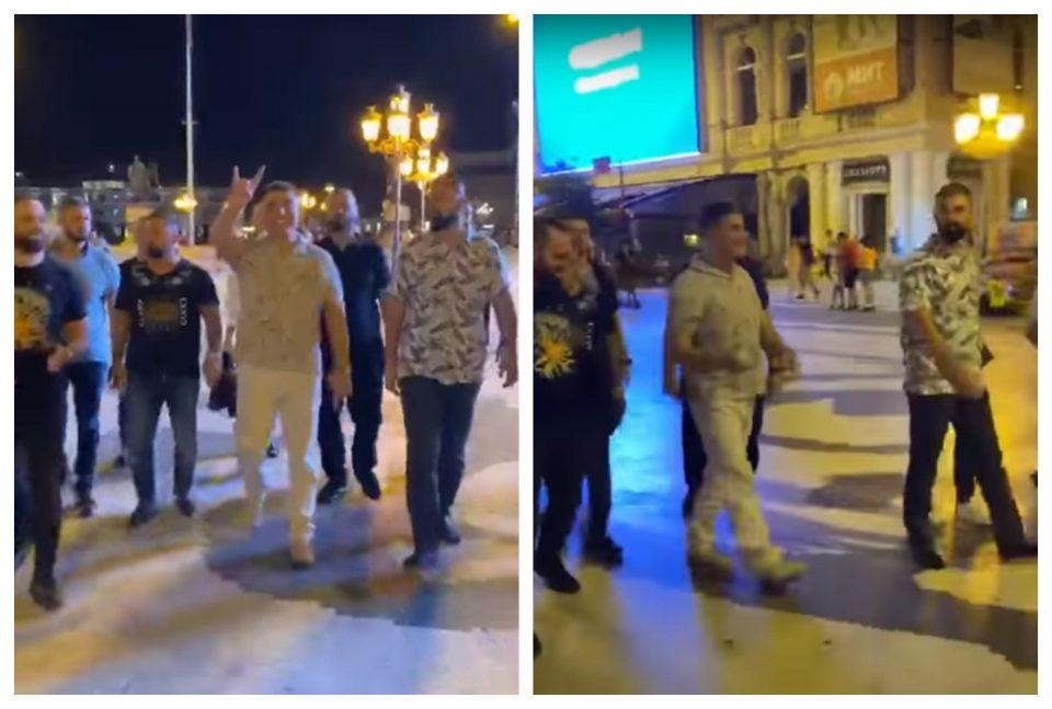 """(ВИДЕО) Седат Пекер редовно го посетувал и """"Плоштадот Македонија"""""""