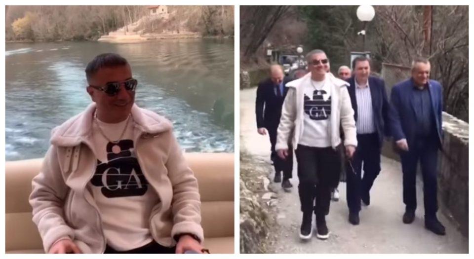 (ВИДЕО) Турскиот гангстер Седат Пекер бил редовен гостин на кањонот Матка