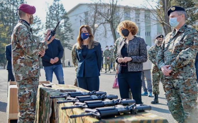 """Шекеринска и Брнз утре во посета на армискиот полигон """"Криволак"""""""