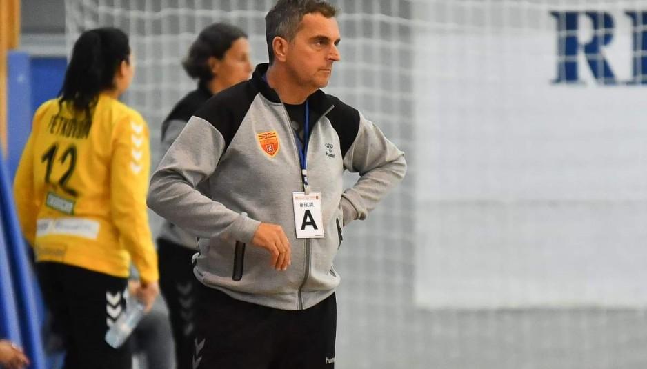 Симовски повеќе не е селектор на македонските ракометарки