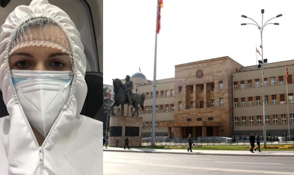 Пратеничката од СДСМ што дојде по скафандер, повторно присутна во Собранието