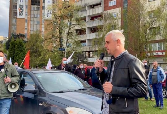 (ВИДЕО) Грков: Ме избркаа од ЕСМ само затоа што се борев за синдикално организирање