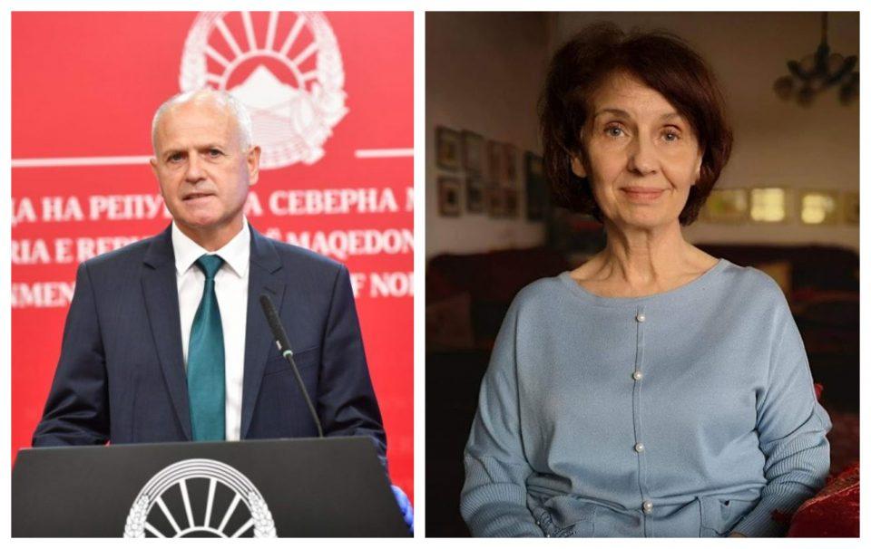 Силјановска-Давкова во одбрана на Пауновски: Според кои закони и членови е разрешен?
